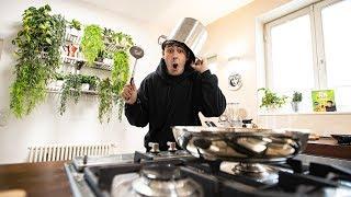 Ich koche das erste Mal in der neuen Küche! 😊