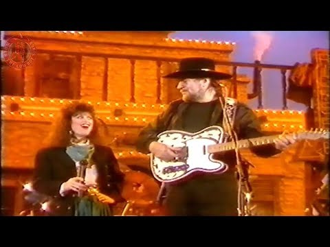 Waylon Jennings and Jessi Colter - It Wasn't God Who Made Honky Tonk Angels