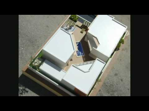 Maqueta casa residencia youtube - Maqueta casa up ...