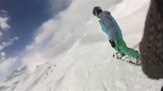Snowboard in Aosta, Italy (2018)