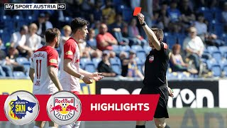 tipico Bundesliga, 26. Runde: SKN St. Pölten - FC Red Bull Salzburg 1:1
