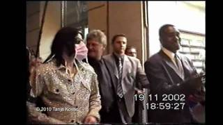 Michael Jackson in Berlin, 19th November 2002 - RARE FOOTAGE - filmed by Tanja Kovac