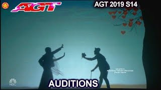 Verba Shadow Dance Group from Ukraine FANTASTIC VISUALS | America's Got Talent 2019 Audition