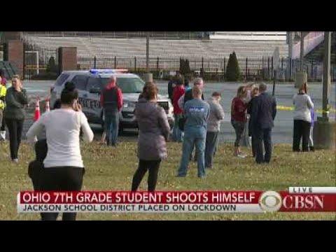 Ohio seventh-grade student shoots himself