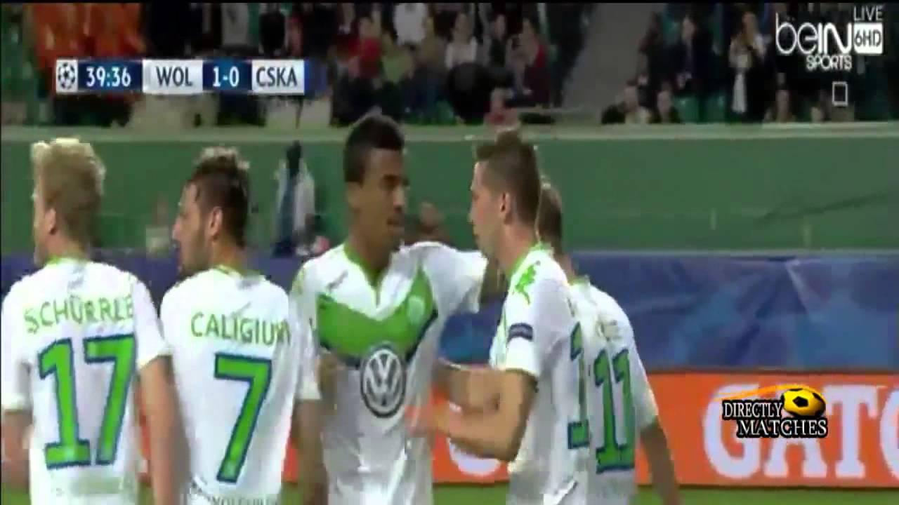 Download Wolfsburg vs CSKA Moskva 1-0 All Goals 2015 HD