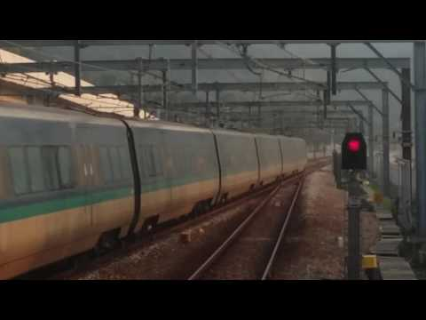 【超快機鐵】港鐵 AEL CAF-Train K405/E105 駛經欣澳站