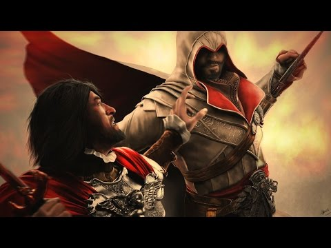 Digital speed painting | Ezio - Brotherhood [Assassin's Creed] 1440p [Corel Painter]