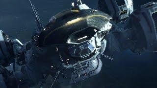 Крушение корабля инженера (Прометей)! Отрывок из фильма!