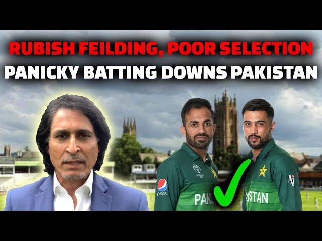 Rubbish Fielding, Poor Selection, Panicky Batting Downs Pakistan