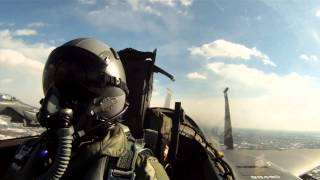 Seymour Johnson AFB D.C. Flyover Salute to Risner