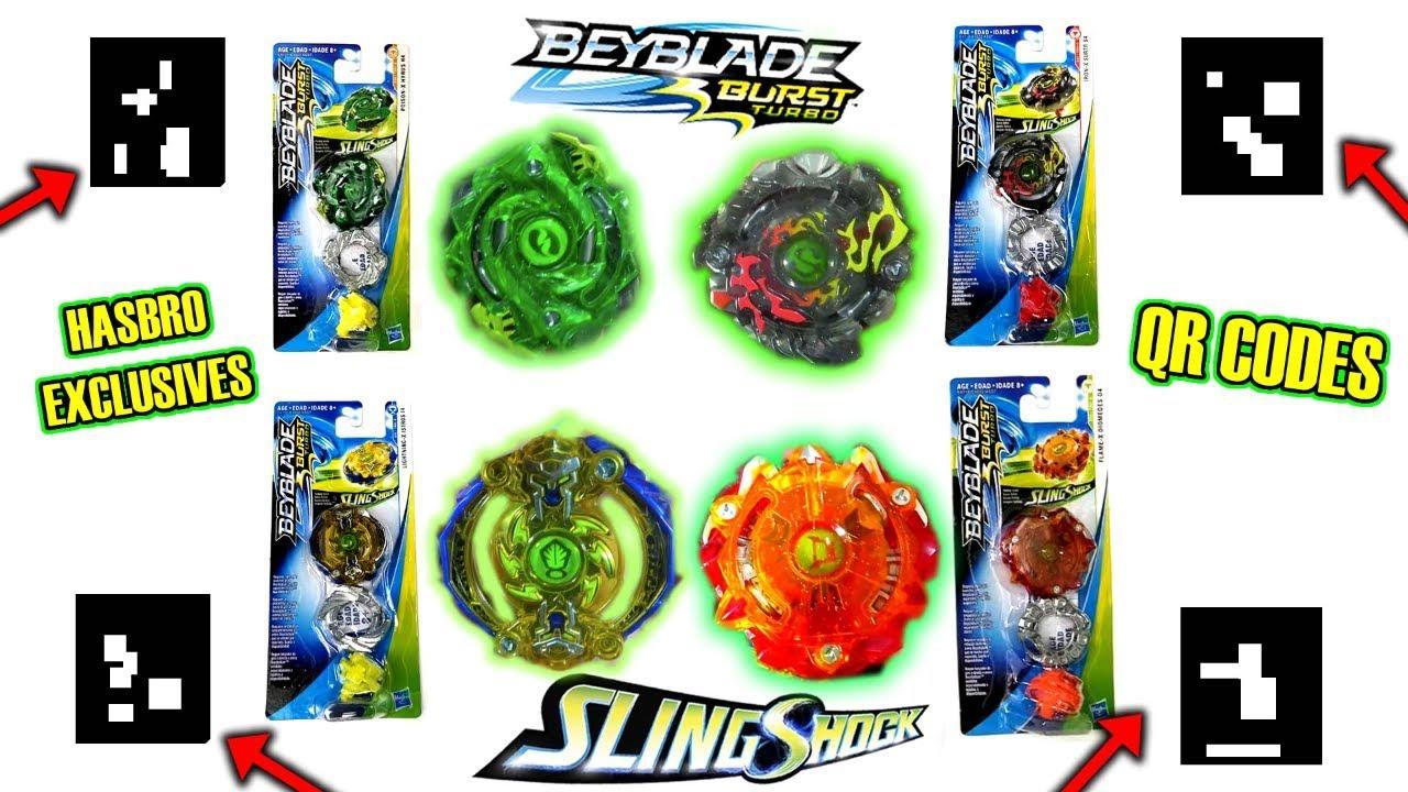 Beyblade Burst Turbo Bundle Ogre Flame Diomedes Iron X Surtr Kraken SlingShock