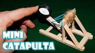 How to Make Homemade Mini Catapult