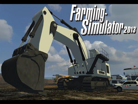 Farming Simulator 2013 Mod Map OILSAND Special Machinery