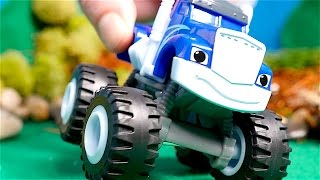Blaze and the Monster Machines toys - Big trucks for kids - Monster trucks for kids