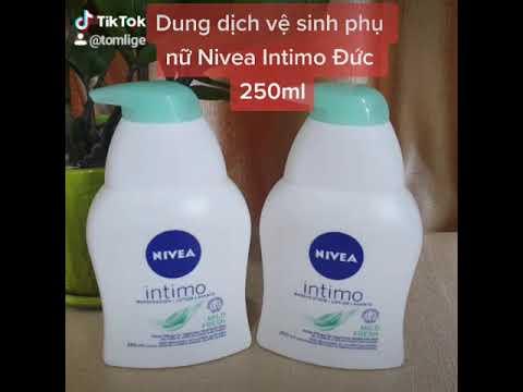 Dung dịch vệ sinh phụ nữ Nivea Intimo Mild Fresh 250ml Đức