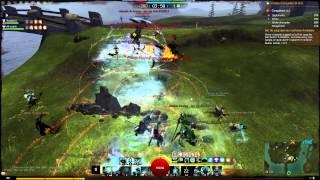 Gw2 WvW Scrim [BurN] vs [SL] 12/08 PoV guardian - Cerde