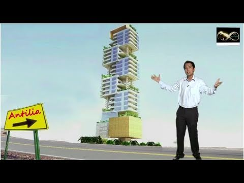 Antilia Tour Inside The Mukesh Ambani Palace Youtube