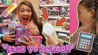 BACK TO SCHOOL SHOPPING!!