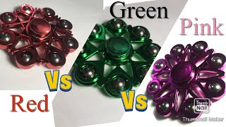 Fidget Spinner Battle Semi-Finals Red vs Green vs Pink ( Part 10 of 13)