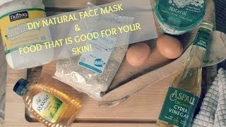 DIY Natural Facemask & Food That's Good For Your Skin I Beauty and the Bake Thumbnail