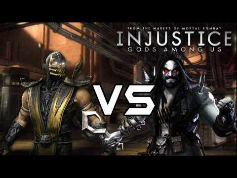 Injustice Gods Among Us - Scorpion vs Assassin's with Lore & Skins