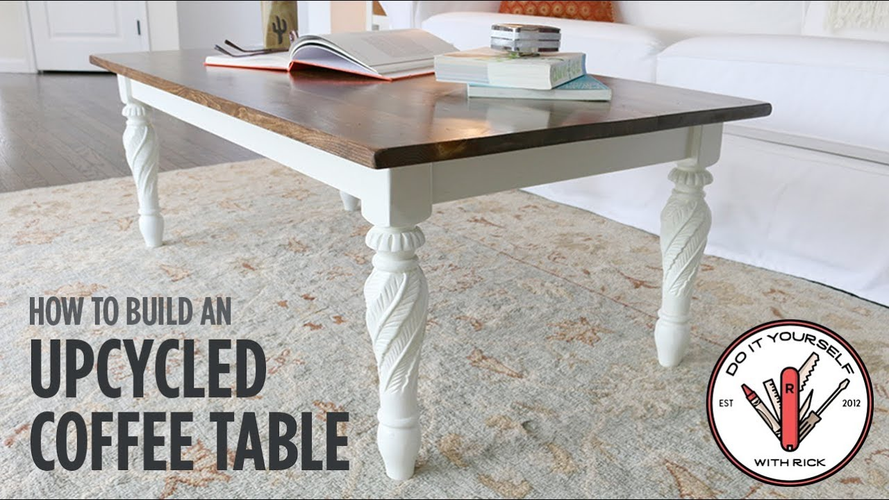 Build An Upcycled Coffee Table