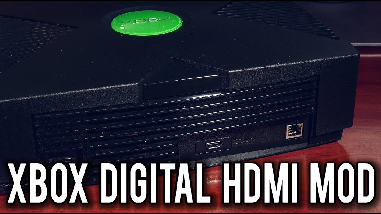 XboxHDMI - Pure Digital Video HDMI mod for the Original Xbox | MVG