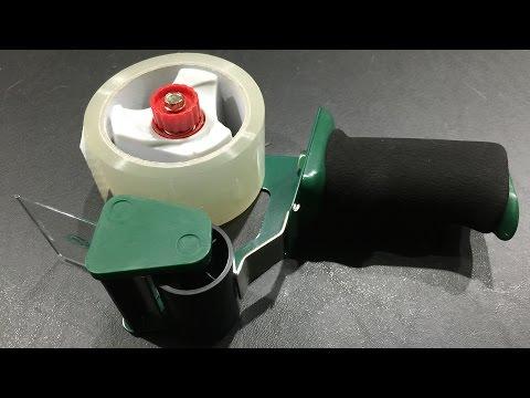 Duck Nd Standard Tape Gun With Foam Handle Unboxing In 4k Ultrahd