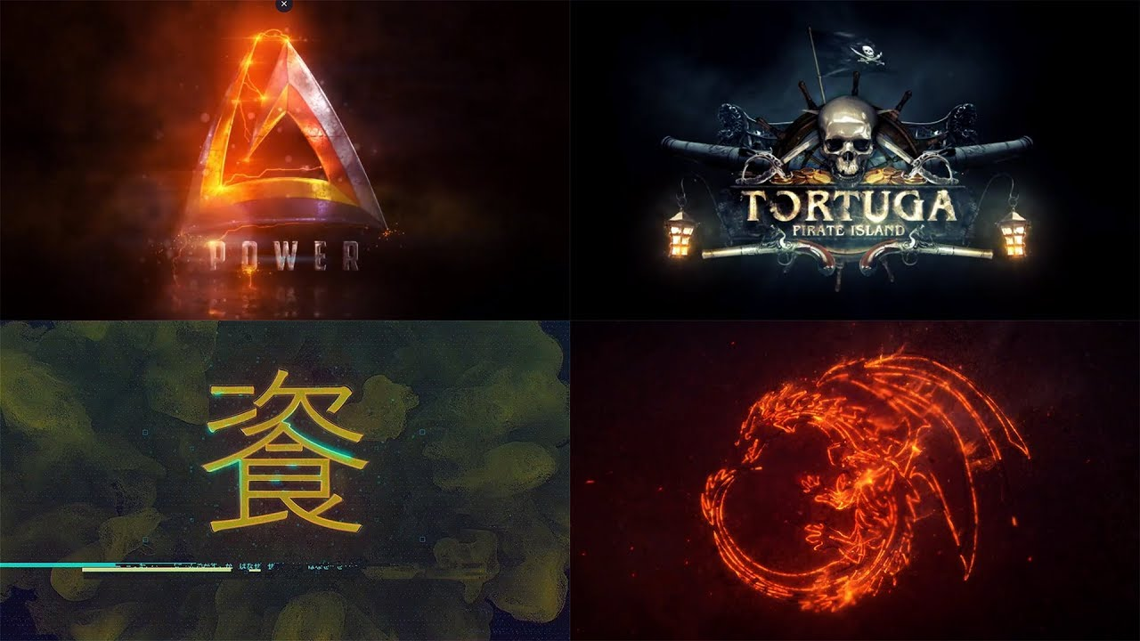 Top 10 LOGO Template After Effects