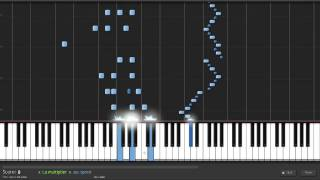 Flight of the Bumblebee (30% speed) - Synthesia w/ sheet music