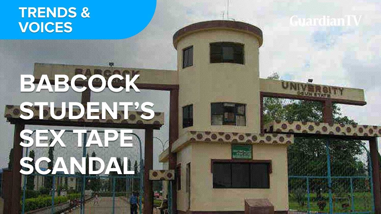 Download Babcock University student's sex tape: What is your take?