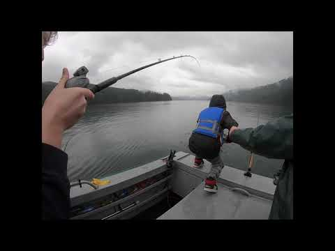 *KOKANEE* Fishing At Lake Merwin (3/7/20) Washington
