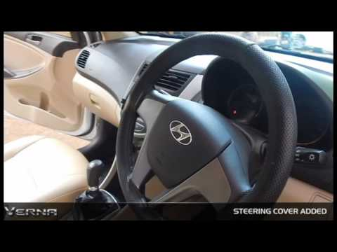 NEW VERNA FLUIDIC 2017 4s 14 VTVT BASE MODEL Modified User Review