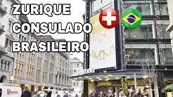 VLOG: CONSULADO DO BRASIL E CENTRO DE ZURICH 🇨🇭