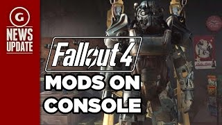 Fallout 4: Bethesda Talks Console Mods! - GS News Update