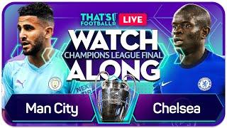 MAN CITY vs CHELSEA LIVE CHAMPIONS LEAGUE FINAL Watchalong with Mark GOLDBRIDGE