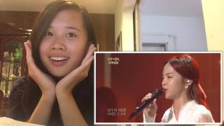 If I Leave - Song So Hee LIVE Reaction