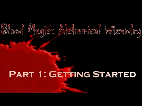 blood magic alchemical wizardry майнкрафт