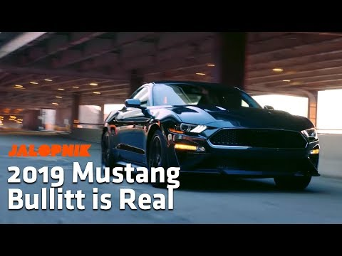 The 2019 Mustang Bullitt is Real and Looks Amazing   Detroit Auto Show