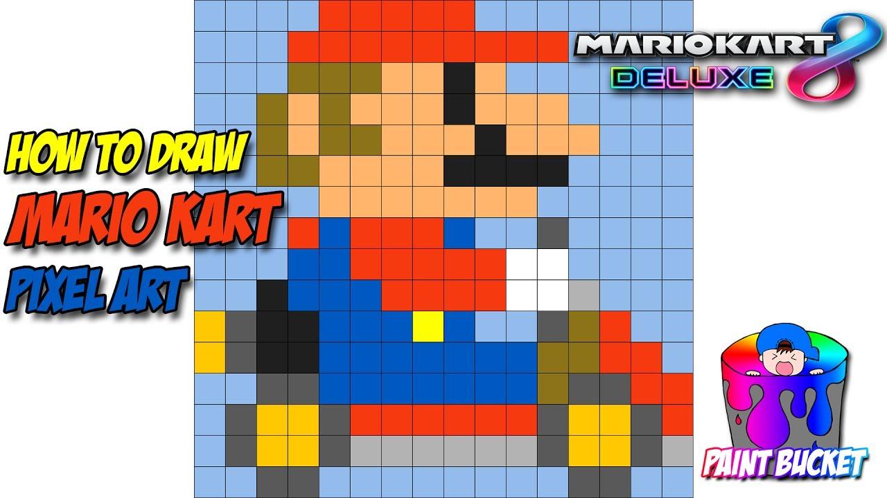How To Draw Mario Kart Nintendo Switch Mario Kart 8 Deluxe