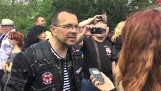 ParlamentníListy.cz: Poslanec Foldyna s Nočními vlky v Děčíně