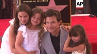 Jennifer Aniston, Will Arnett join as Jason Bateman gets a star on the Hollywood Walk of Fame