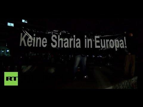 LIVE: PEGIDA demo in Dresden