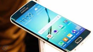 ▶ Samsung Galaxy S6 Edge - Erster Eindruck (Deutsch)