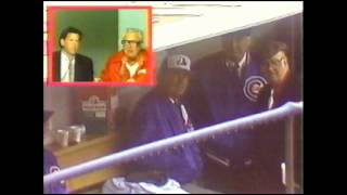 1983 Chicago Cubs Season Opener at Wrigley Field on WGN - Rain Delay (Part 1)