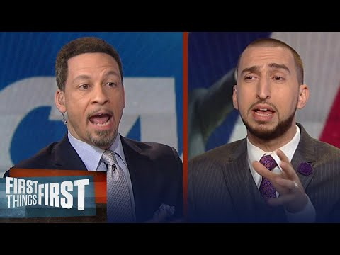 Chris Broussard and Nick Wright react to LeBron calling the NCAA corrupt | FIRST THINGS FIRST