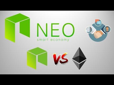 Криптовалюта NEO - Обзор NEO Vs Ethereum