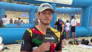 South Africa's First Beach Dodgeball Cup
