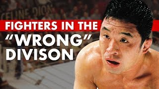 "10 Great Fighters Who Fought in the ""Wrong"" Weight Class"