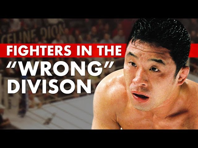 10 Great Fighters Who Fought in the Wrong Weight Class